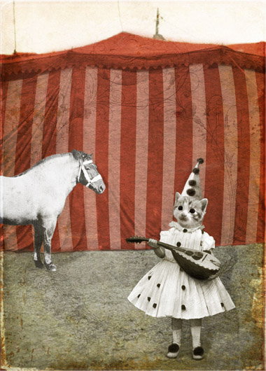Trubadur og hest av Katrine Kalleklev